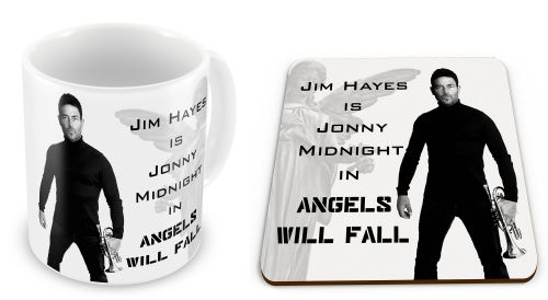 Angels Will Fall - Jonny Midnight (Jim Hayes) Mug with Coaster Gift Set